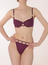 Marlies Dekkers Magenta Silver Collection String Sided High Leg String
