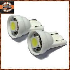 Coche Clásico Blanco Cálido Sin tapa LED T10 501 Luz Lateral Válvula Bombillas