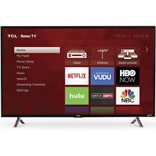 TCL 40-Inch Roku Smart LED TV with 1080p R solution, 120Hz Clearn Motion - Black