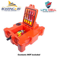 Life Cell Crewman - Emergency Safety Gear Storage and Flotation Device