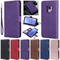 Detachable Wallet Leather Flip Case Cover For Samsung S20 S10 S9 S8 Plus A51 A50