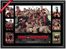 AFL Essendon Bombers 2000 Super Frame - Framed