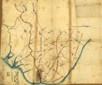 1861 Map| Sketch of eastern portion of Fairfax County, Va., June 1861| Fairfax C