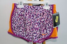 Nike Running Active Work Out Shorts Girls Size 6X 6-7 Dri Fit Purple NWT