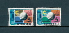 United Nations Geneva  46-7 MNH, Peaceful Use of Space, 1975
