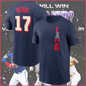 Los Angeles Angels Shohei Ohtani 2021 MLB All-Star Game Name & Number T-Shirt