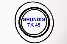 CORREAS SET GRUNDIG TK 45 MAGNETOFONO  EXTRA FUERTE NUEVAS DE FABRICA  TK4