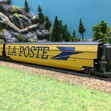 """Voiture intermediaire La Poste """"Hirondelle"""" TGV SNCF-HO 1/87-JOUEF HJ4119"""