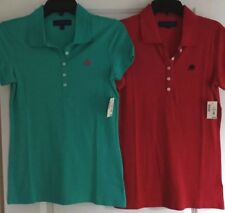 NWT AEROPOSTALE GIRLS YOUTH SZ MED LOT OF TWO UNIFORM POLO SHIRTS Total MSRP $49