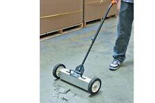 22 In. Magnetic Floor Sweeper with Release Floor Metal Picker Upper Clean Garage