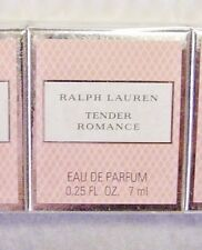 RALPH LAUREN TENDER ROMANCE 7 ML EDP LOT TOTES+GIFT