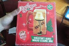 A Christmas Story Collector's Series 40 oz. Molded Ceramic Leg Lamp Mug