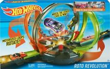 Licensed Hot Wheels Roto Revolution Track Set 2x Cars Christmas Birthday Gift