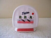 "Vintage Ceramic "" Florida "" Themed Napkin Holder "" BEAUTIFUL COLLECTIBLE ITEM """