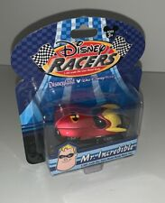 DISNEY RACERS 1:64 Scale THE INCREDIBLES MR. INCREDIBLE Race Car – RARE – New!!!
