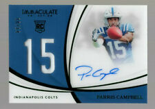 PARRIS CAMPBELL 2019 IMMACULATE COLLECTION EMERALD ACETATE RPA RC AUTO/PATCH /14