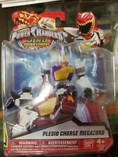 "Power Rangers Dino Super Charge - 5"" Plesio Charge Megazord Action Figure Sealed"