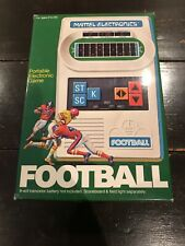 (NICE CONDITION) COMPLETE Mattel FOOTBALL 1977 Vintage Electronic Handheld Game