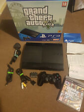SONY PLAYSTATION 3 SLIM...500GB WITH GTA PROMO BOX! FULL SET UP WITH GTA GAME.