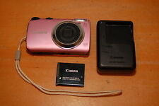 Canon PowerShot A3300 IS 16.0MP Digital Camera - Pink