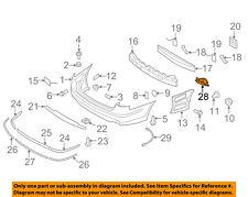 HYUNDAI OEM 12-14 Genesis Rear Bumper-Trim Cover Right 866623M500