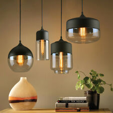 Brief Contemporary Hanging Glass Pendant Lamp Lights Fixtures LED Lighting D