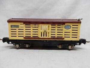 PREWAR LIONEL LINES 2813 STOCK CAR, C-7 EXCELLENT CONDITION