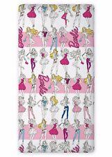 Barbie drap housse 90x200 cm 100% Coton idée déco Mattel Barbie