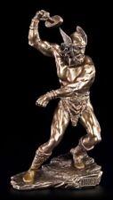 THOR Figurine - Viking Dieu Statuette dieu du tonnerre MARTEU VERONESE