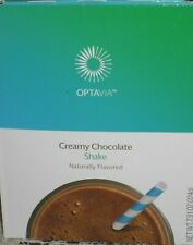 ❤️ MEDIFAST OPTAVIA CREAMY CHOCOLATE SHAKES ~ FREE SHIP! 7 MEALS ~ EXP 3/2021
