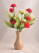 """5"""" Stone Flower Vase Stone Vase Handmade Table Decor Polished Made in India"""