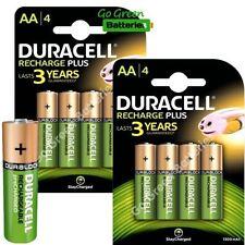 Piles rechargeables Duracell pour équipement audio et vidéo AA