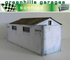 Greenhills Scalextric Slot Car Building Kit Goodwood Toilet Block 1:43 Scale ...