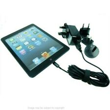 3m Extra Long Travel Charger for iPad Mini, iPad 4th Gen & iPhone 5 UK USA EU AU