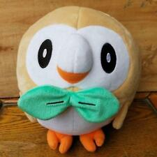 Pokemon Center Rowlet Mokuro plush dolls Poket Monster Sun & Moon 20cm