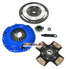FX 4-PUCK STAGE 3 CLUTCH KIT+ 10 LBS CHROMOLY FLYWHEEL ACURA HONDA B16 B18 B20