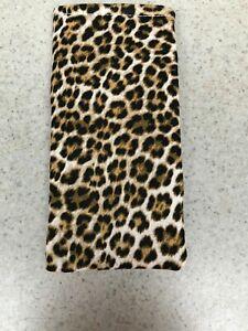 Eyeglass / Sunglass Soft Fabric Case - Leopard Print - Great for Autumn!  NEW