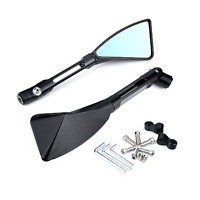 2x CNC Motorcycle Rear view Side Mirrors Honda CBF600 CB400 CBR125R CBF125 all