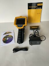 Fluke Ti10 Thermal Imaging Infrared Camera Charger Amp Hardsoft Case Card Reader