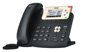 Yealink SIP-T23G Enterprise Gigabit IP Phone 3-Line VoIP HD Complete In Box
