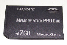 Sony 2GB Sony PSP Memory Stick Pro Duo Memory Card Camera Cybershot