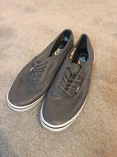 Vans Authentic Lo Pro Leather Grey Unisex (Mens US 7.5/Ladies US 9) UK 6.5