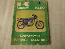 KAWASAKI KZ200 MOTORCYCLE  SERVICE MANUAL   99931-541-01  3