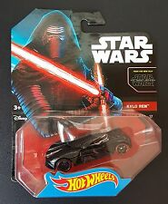Hot Wheels** STAR WARS: THE FORCE AWAKENS **KYLO REN CHARACTER CAR 17