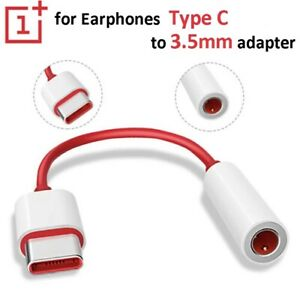 USB Type C To 3.5mm Earphone Jack Adapter Audio Cable Connector OnePlus Samsung