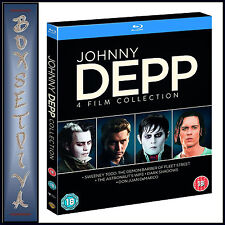 JOHNNY DEPP - 4 FILM COLLECTION  *BRAND NEW BLU-RAY BOXSET**