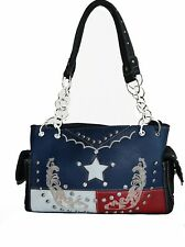 american handbags for women concealed carry striped flag purse star  buckle