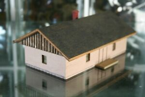 HO Scale Scratch Built Wood Building Fully Assembled