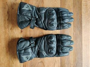 Used In Good Condition Dainese Veloce Mens long cuff gloves - Size 10 XXL