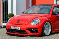 Spoilerschwert Frontspoiler Lippe aus ABS für VW Beetle 5C 16 R-Line